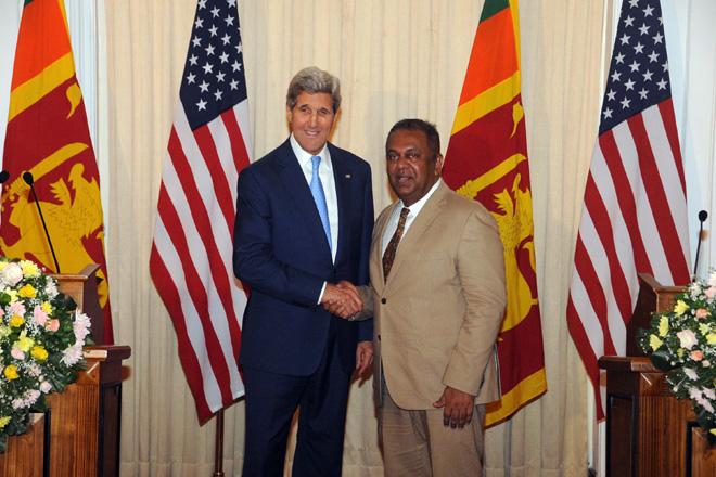 US pledges support for Sri Lanka
