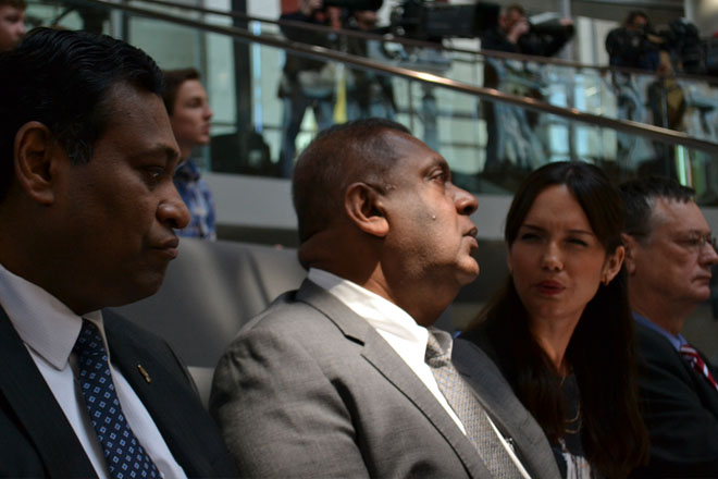 Foreign Affairs Minister Mangala Samaraweera in Germany