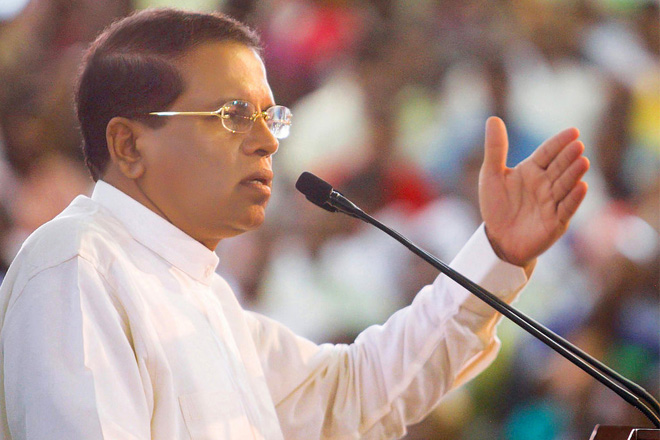 Don't be pressured regarding land reclamation: President
