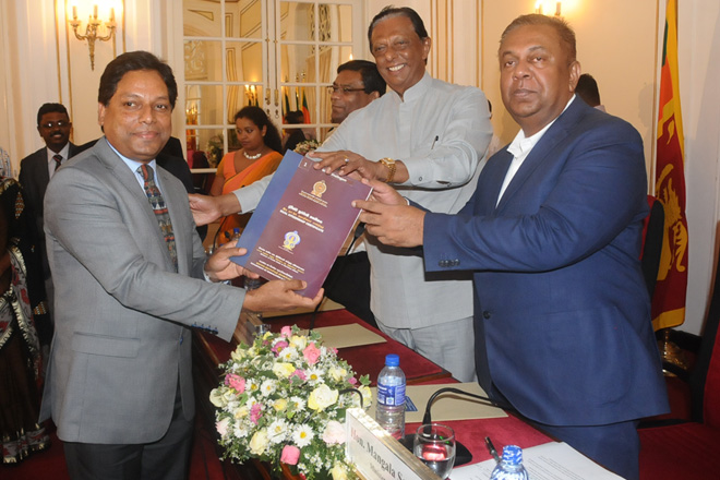 Handing Over of Dual Citizenship Certificates