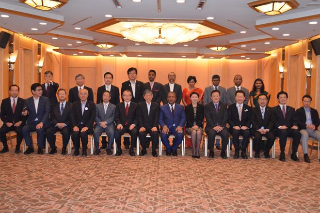 Foreign Minister meets Japan Sri Lanka Parliamentary League