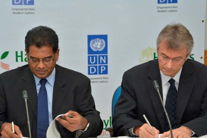 Sri Lanka's Hayleys and UNDP to promote seaweed farming in North