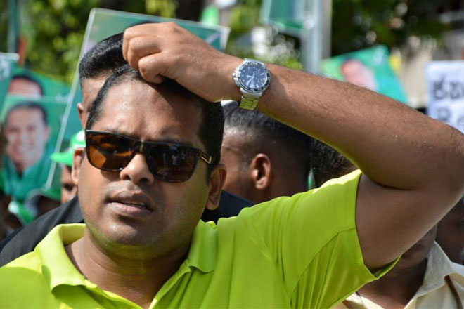 """We don't think President will join hands with MR"": Harin Fernando"