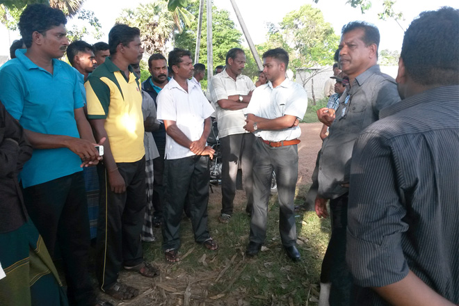 Lalkantha meets Sampur residents