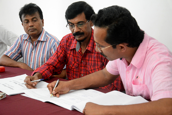 PHOTOS: JVP signed nominations (11 July 2015)