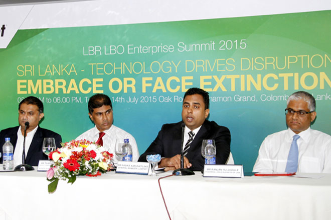 """SRI LANKA – TECHNOLOGY DRIVES DISRUPTION: EMBRACE OR FACE EXTINCTION"" 