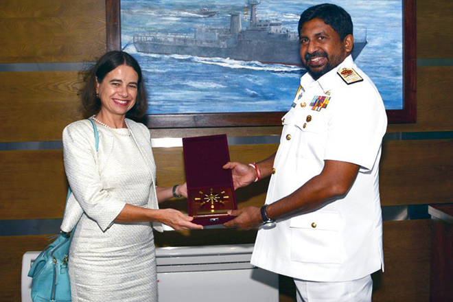 Australian High Commissioner calls on the Chief of Defence Staff