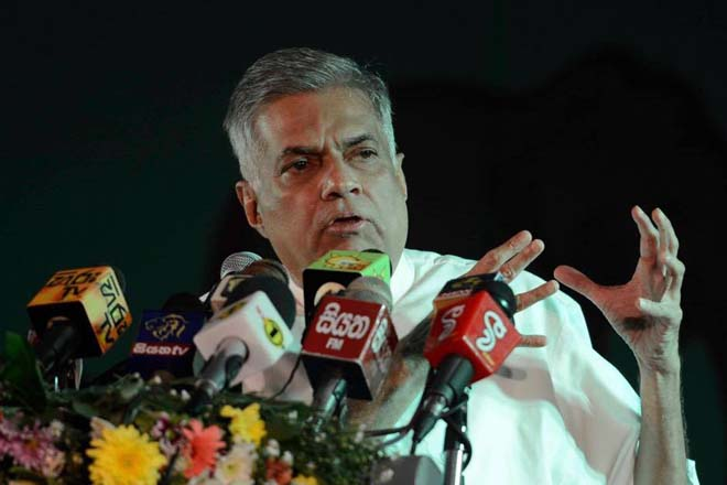 Sri Lanka's PM promises a country that ditched the Rajapaksa legacy