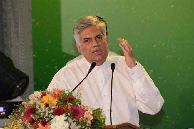 Sri Lanka will not tolerate corruption and thieves : PM