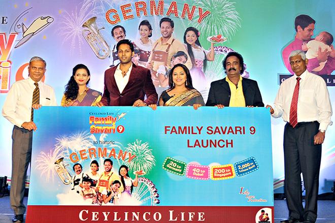 Germany adds zest to Ceylinco Life's 'Family Savari 9' promotion