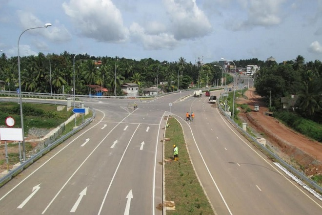 Additional lanes for entry & exit ramp of Ja-Ela interchange to ease congestion