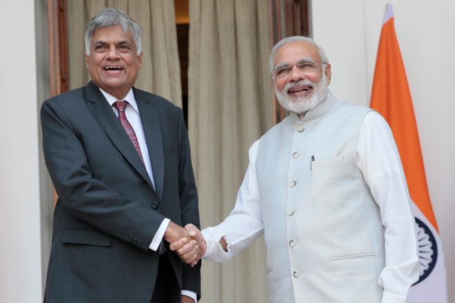 India likes to see trade become more balanced for Sri Lanka: Indian PM
