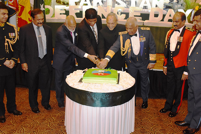 50th Defense Day of Pakistan celebrated in Colombo