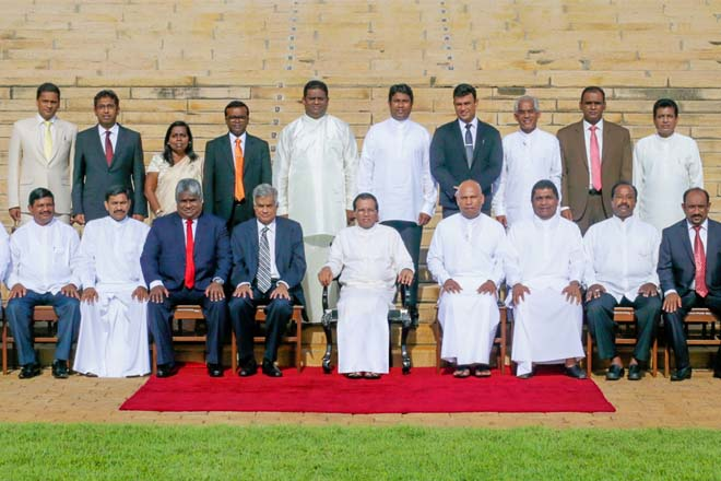 Sri Lanka appoints new State and Deputy Ministers