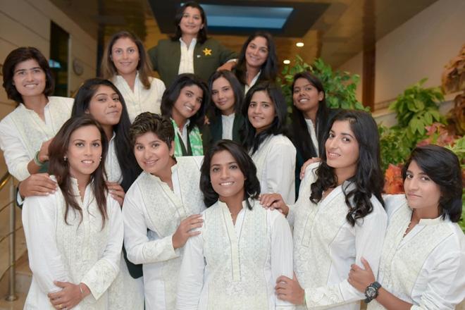 Pakistan women's cricket team gets stylish with off-duty kurtas