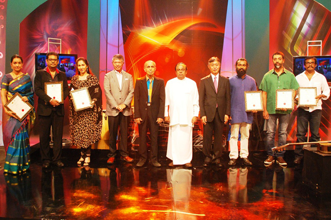 6 Sri Lankan artistes honoured with Bunka Award 2015