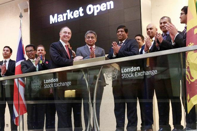 Colombo Stock Exchange opens trading at London Stock Exchange