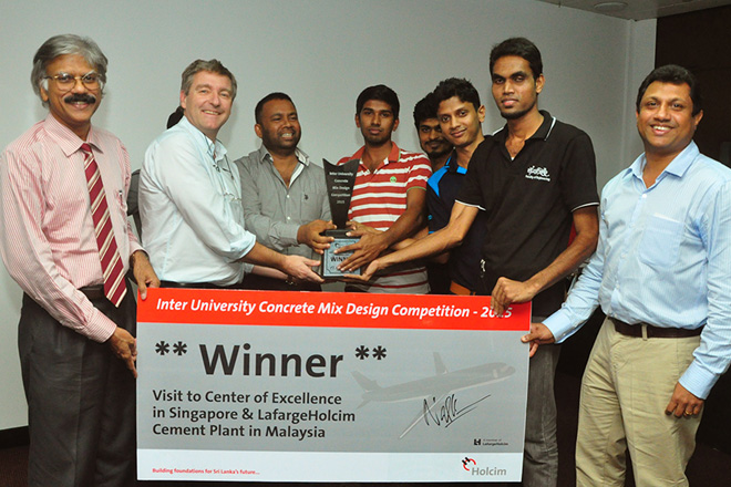 Holcim Lanka inter-university competition 2015