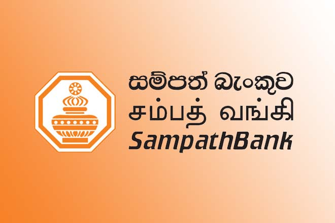 Sampath Bank's Net Interest Income up by 23-pct in Q1 2019
