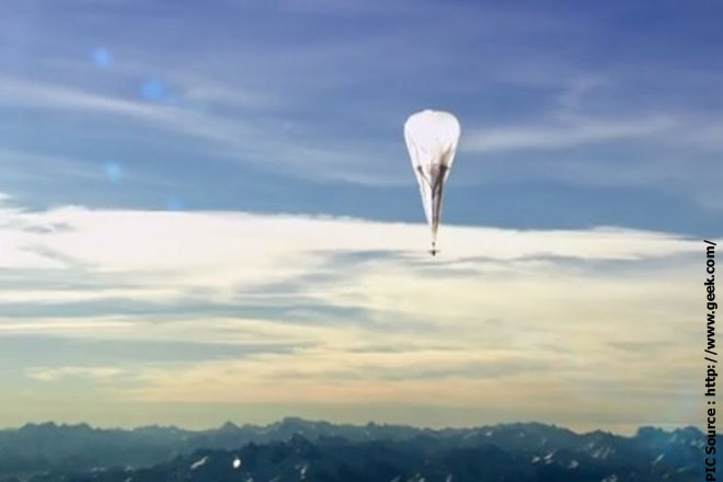 Google loon to start testing in Sri Lanka this month