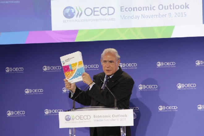 Global growth prospects dim, slowest in six years: OECD