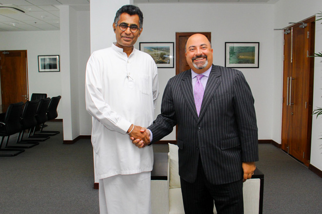 US Ambassador meets Megapolis and Western Development Minister