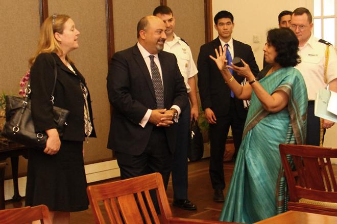 US Deputy Assistant Secretary of Defense visits Sri Lanka