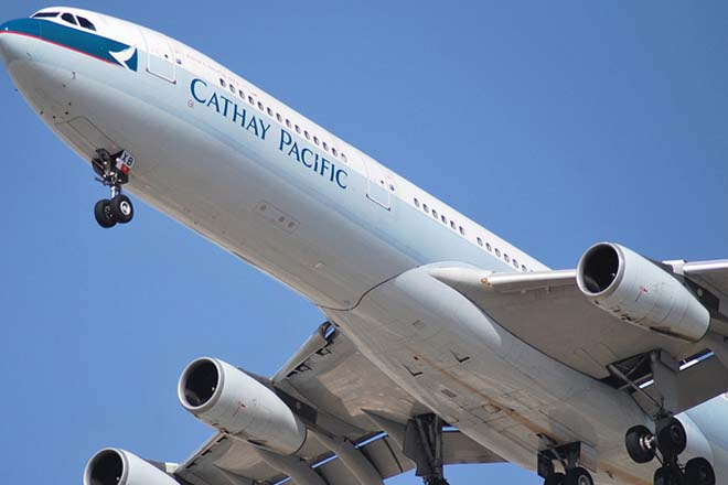 Cathay Pacific airline posts first annual loss since 2008