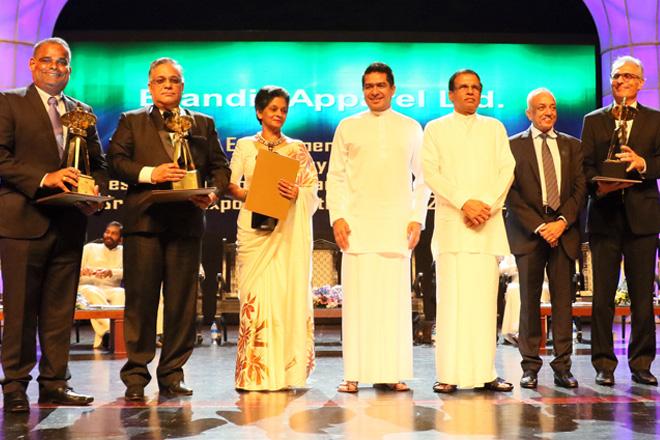 Brandix wins 8 Presidential Export Awards