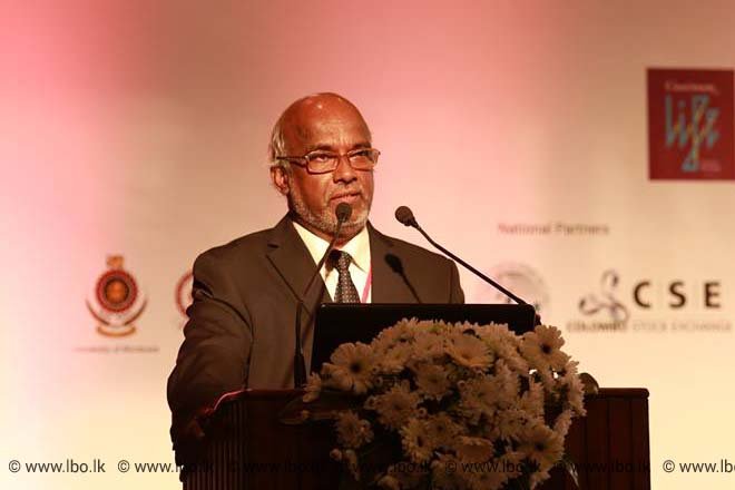 LBR LBO Infrastructure Summit 2015 – Keynote Speech – Professor P K S Mahanama