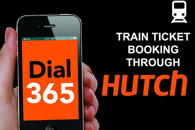 Hutch launches train ticket purchases via mobile