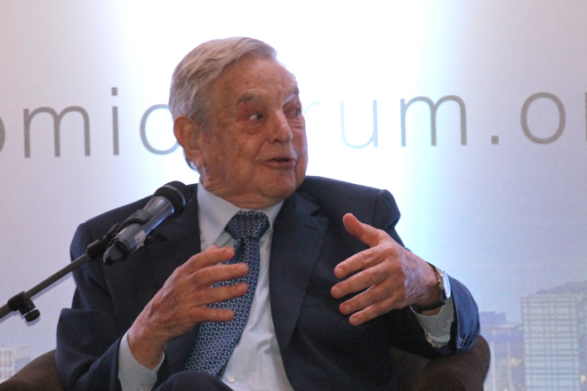 George Soros looking at investment opportunities in Sri Lanka