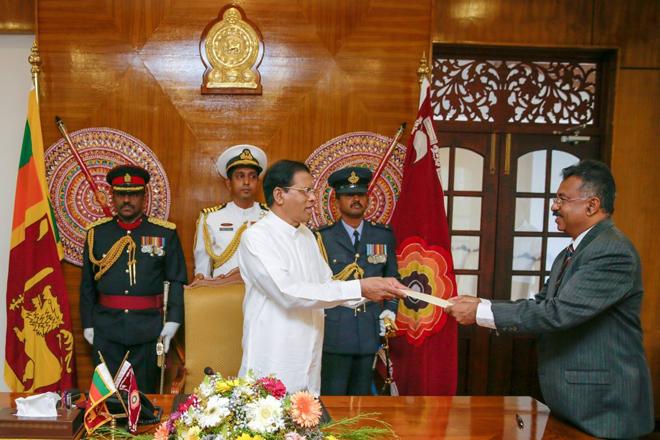 Jayantha Jayasuriya took oaths as new Attorney General