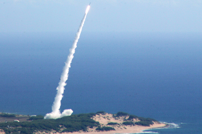 North Korean missile passes over Japan and lands in sea: report