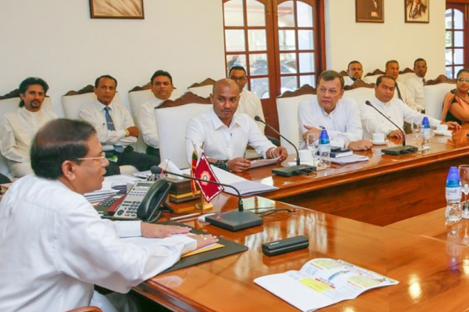 President appoints new SLFP organizers to electorates and districts