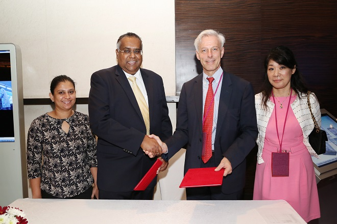 Ceylon Chamber and Swiss-Asian Chamber of Commerce in MOU