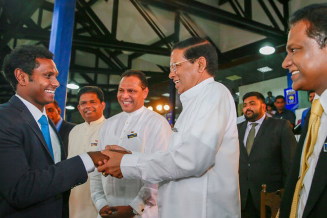 President congratulates Sri Lanka Cricket team leaving for T20 world cup