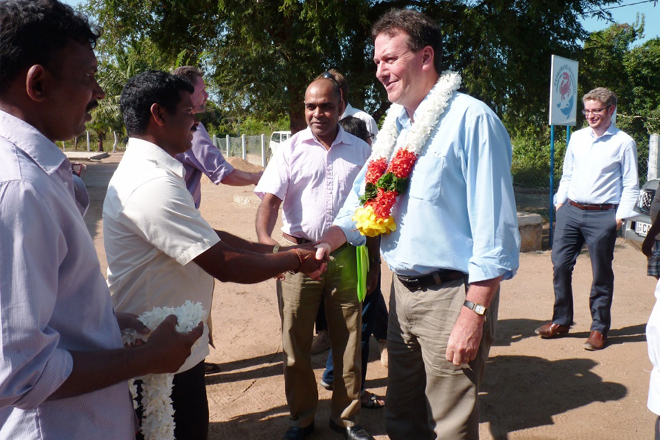 Australian High Commissioner visits development projects in North