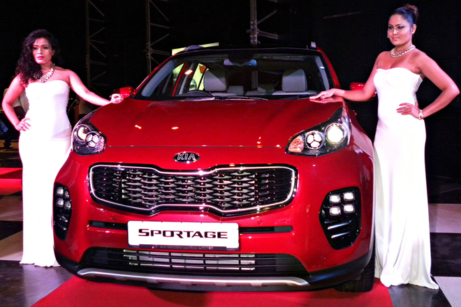 Kia's 4th generation Sportage unveiled in Colombo