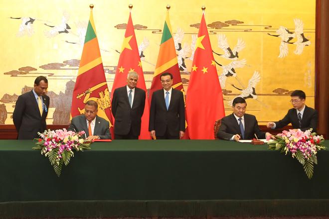 China grants 500mn Yuan symbolizing Sino-Lanka friendship
