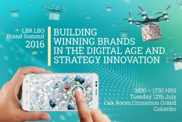 "LBR LBO Brand Summit 2016 – ""Building Winning Brands in the Digital Age and Strategy Innovation"" – Tuesday 12th July 2016"