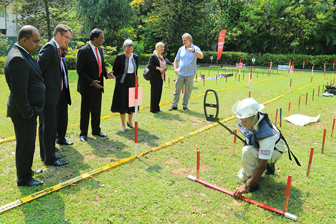 Sri Lanka mine clearing reaches its final 25 square kilometers