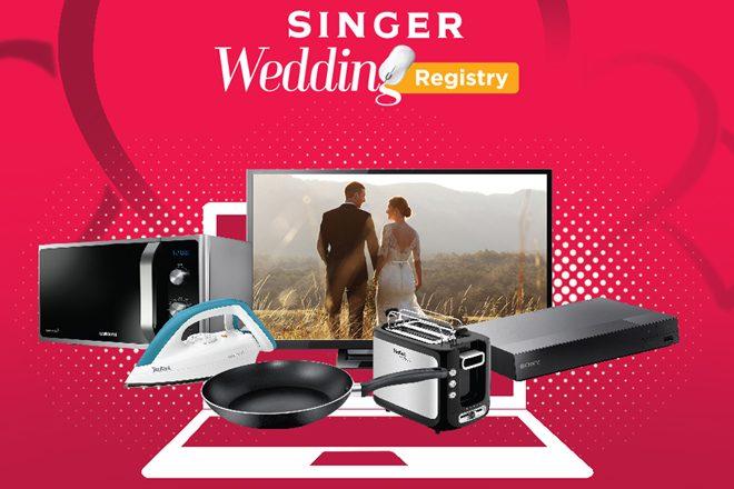 Singer-Wedding-Registry