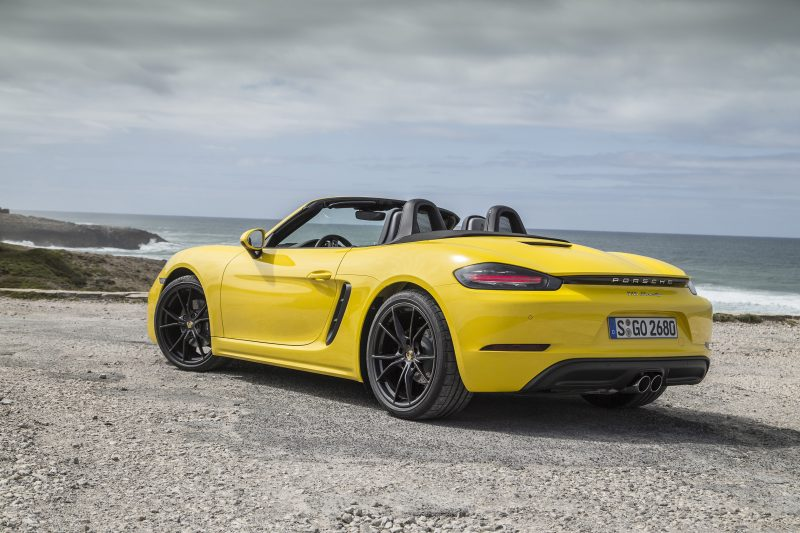 Eurocars launch new Porsche 718 Boxster models in Colombo