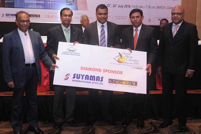Hotel Show Colombo 2016 with over 250 stalls from over 20 countries