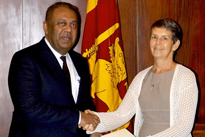 New UN resident coordinator for Sri Lanka takes office