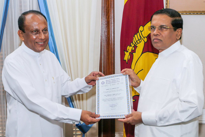 President strengthens SLFP to face possible separation