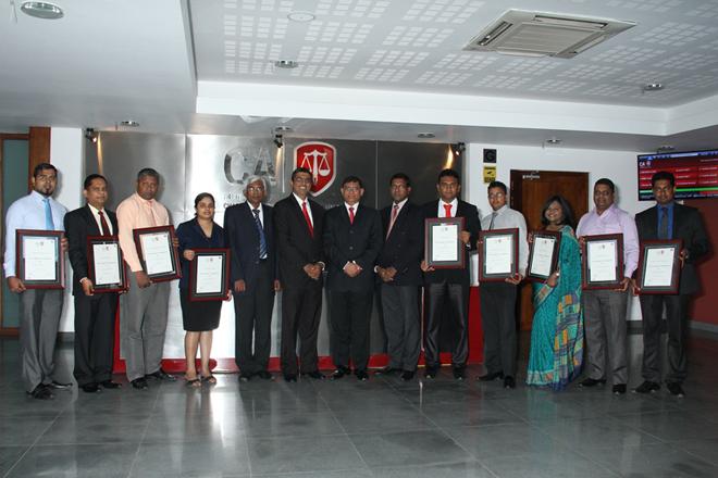 Nine companies onboard as CA Sri Lanka practical training partners