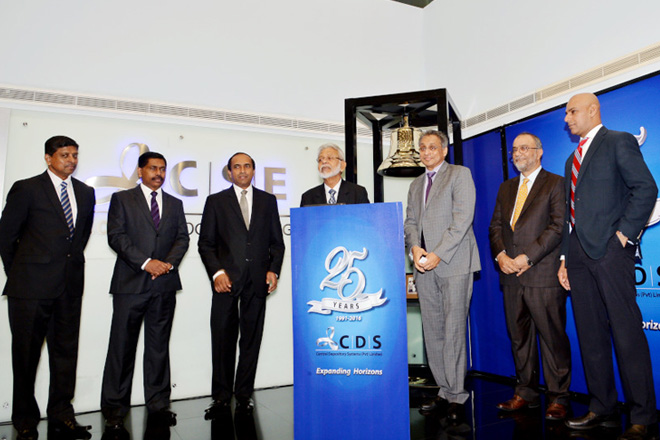 CDS celebrates 25 years in Sri Lankan capital market