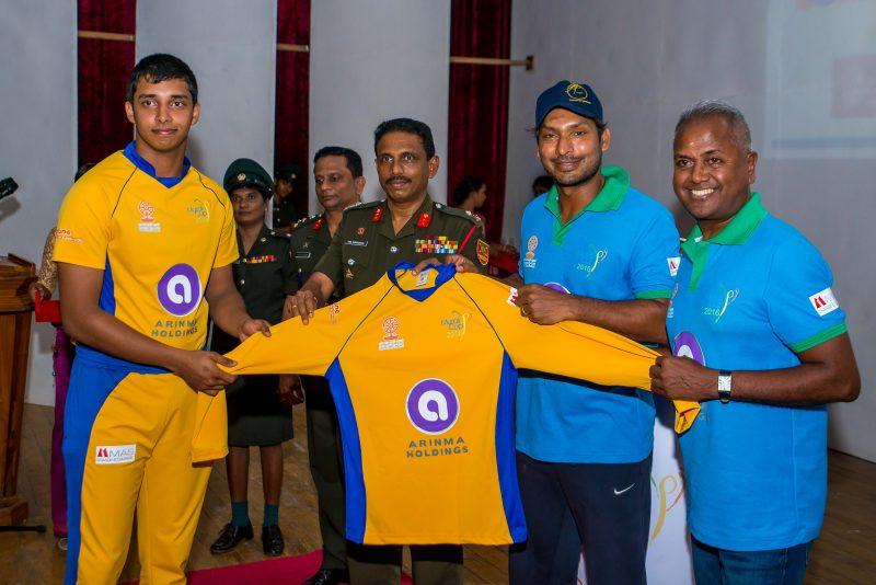 Kumar Sangakkara Kicks OffMurali Harmony Cup 2016